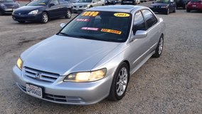 "2001 HONDA ACCORD EX 4DR 4CLY AUTO "" ONLY 116K MILES "" ..... LOADED ....$3890 in Yucca Valley, California"