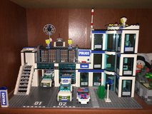 Lego police station in Naperville, Illinois