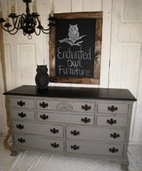 Distressed Gray Dresser in Kingwood, Texas