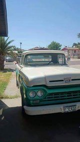 Classic truck (reduced) in Fort Bliss, Texas