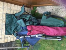 Camping chairs in Lakenheath, UK
