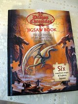 JIGSAWS BOOK DRAGON CHRONICLES -  SIX - 63 PIECE PUZZLES in Okinawa, Japan