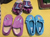 Girls size 11/12 13/1 slippers in Camp Lejeune, North Carolina