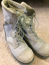 steel toe air force boots. new just tried it on and didnt fit. Size 9.5 in Ramstein, Germany