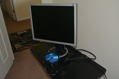 Reduced Further!! Flat Monitor 17'' (Samsung) Almost New!! in Joliet, Illinois