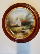 THOMAS KINKADE COLLECTOR PLATE ~ BELIEVE in 29 Palms, California