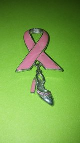 Classy Breast Cancer Awareness Pin in Yucca Valley, California