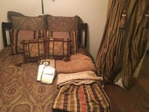 Eastern Accents Bedding set (Queen Set) in Oswego, Illinois