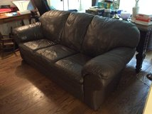 Leather couch in Fairfax, Virginia