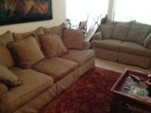Sofa and love seat in St. Louis, Missouri