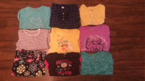 Girl's Long-Sleeved Shirts-6/6X in Bolingbrook, Illinois