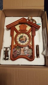 Bradford Exchange Cat Cuckoo Clock in Fort Riley, Kansas