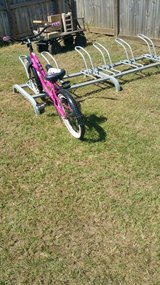 Bicycle rack in Warner Robins, Georgia