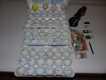 Golf Balls and Miscellaneous Stuff in Fort Riley, Kansas