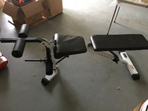Weight Bench with leg extension in Joliet, Illinois