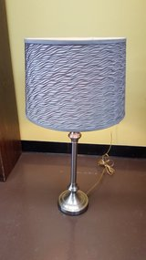 """Home Goods Beautiful Silver/Gray Modern Lamp 12""""x30"""" in The Woodlands, Texas"""