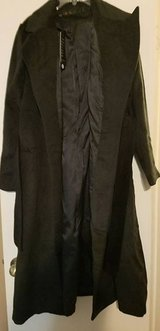 Women's Adult Black Wool Trench Coat in Conroe, Texas