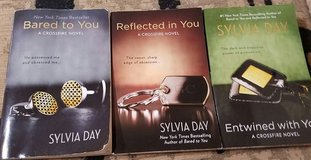 Crossfire Series by Sylvia Day (Books 1-3) in Conroe, Texas