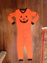 Kids Pumpkin Pajamas Size 8-9 - from Chasing Fireflies Catalog in St. Charles, Illinois