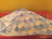 Baby boy blue blanket very good condition in Morris, Illinois