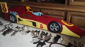 "Wooden deco ""Racing car"" for a bed or on the wall. in Ramstein, Germany"