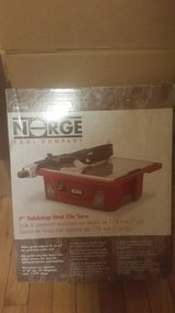 """Norge 7"""" Tabletop Wet Tile Saw in Beaufort, South Carolina"""