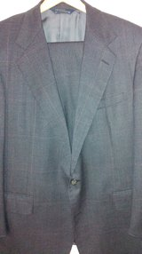 POLO BLUE PLAID 2 button suit in Conroe, Texas