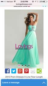 Formal Ball Gown/Prom Dress Size 6 in Camp Lejeune, North Carolina
