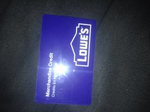$401 lowes card in Los Angeles, California