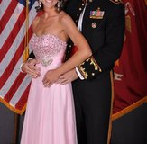 Alyce Formal Ball Gown/Prom Dress Pink Size 4 in Camp Lejeune, North Carolina