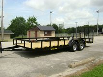 Trailers Utility, Tandem 3.5K Axles,Tube Constructed,Starting@ in Fort Campbell, Kentucky