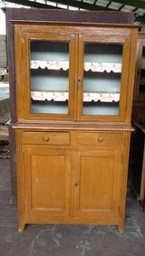 small antique dining room hutch - project piece in Spangdahlem, Germany