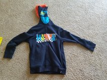 *PRICE REDUCED* Boys size 8 Tony Hawk Zip Up Jacket with mowhawk in Leesville, Louisiana