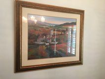 Tuscany Painting 3'x3.5' with gold frame in Kingwood, Texas