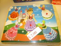 PRINCESS WOODEN PUZZLE in Bolingbrook, Illinois