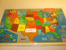 UNITED STATES WOODEN PUZZLE in Joliet, Illinois