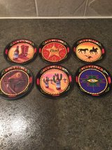Budweiser brewery collectible coasters in Westmont, Illinois