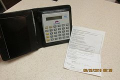 2-Currency Conversion Calculator In Carrying Case - NIB in Kingwood, Texas