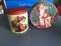Christmas tins in Camp Lejeune, North Carolina