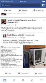 Computer and Htc vr in Fairfield, California