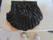 Black Beaded Small Clutch in Plainfield, Illinois