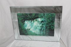 Moving Waterfall Lighted Picture in DeKalb, Illinois
