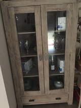 Antique/Rugged finished Curio & Sideboard in Spangdahlem, Germany
