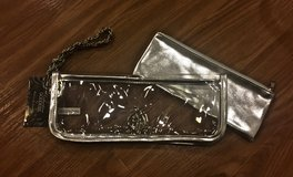*REDUCED* NEW 2 Piece Silver Baby Phat Wristlet by Kimora Lee Simmons in Okinawa, Japan