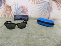Ray Ban Wayfarer Sunglasses with Ray Ban Case and Costa Del Mar Case in Sanford, North Carolina