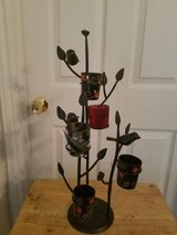 Wroght iron Bird candle holder in Fort Hood, Texas