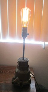 Steampunk Lamp in Yucca Valley, California
