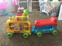 Vtech sit to stand ultimate alphabet train in Sheppard AFB, Texas