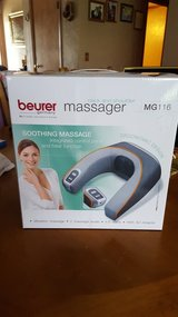 Beurer neck and shoulder massager in Lawton, Oklahoma