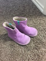 Mini Borden boots in Sheppard AFB, Texas